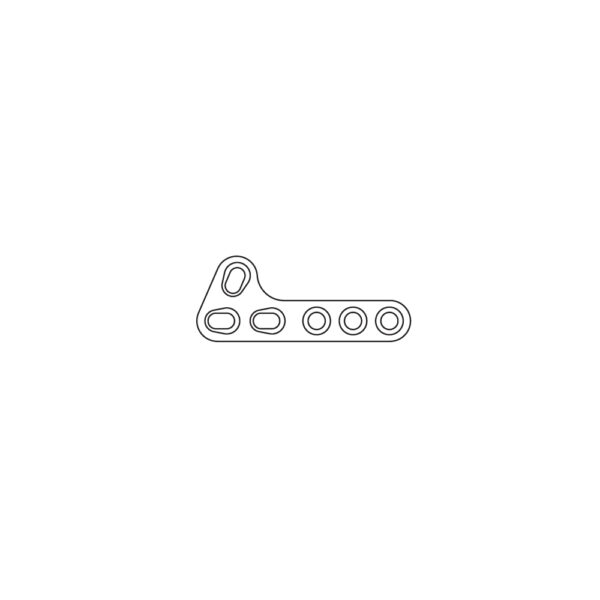Placca TPLO Slocum Style 2.7 mm - 41 mm