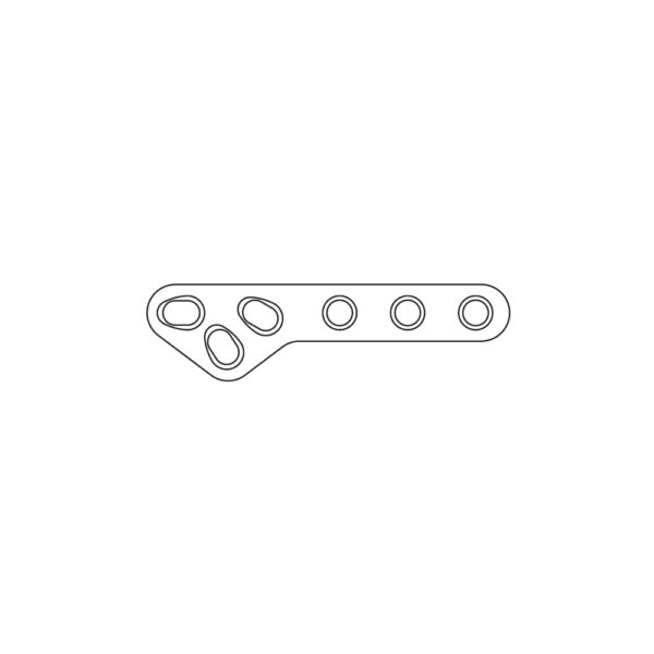 Placca TPLO Slocum Style 3.5 mm - 64 mm