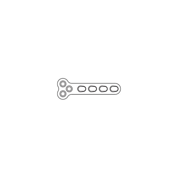 Placca TPLO DCP 2.4 mm