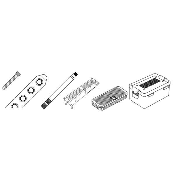 Kit Viti Bloccate e Placche da 2.7/3.5 mm