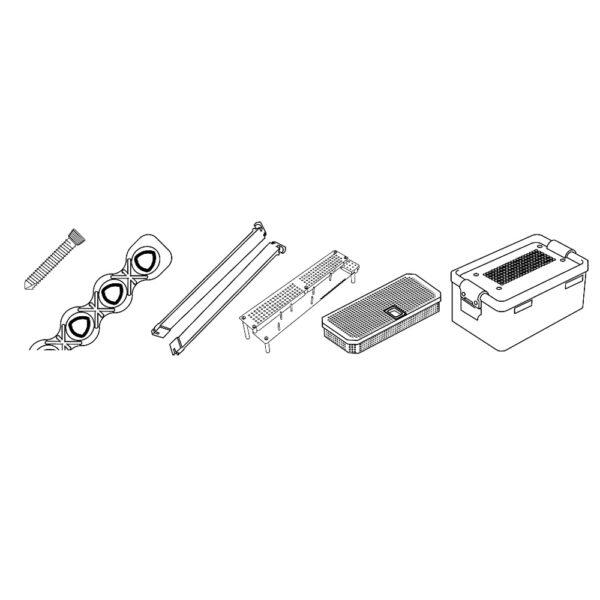 Kit Evolox Viti Bloccate e Placche da 2.7 mm