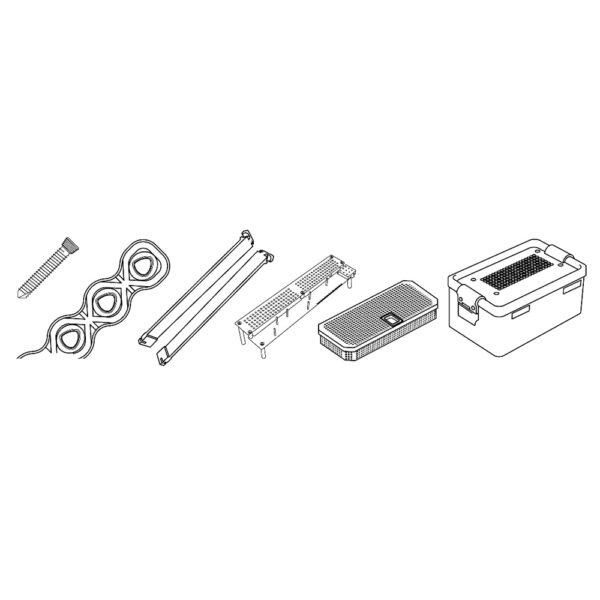 Kit Evolox Viti Bloccate e Placche da 3.5 mm