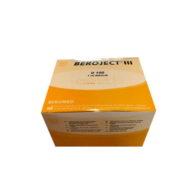 Siringa Beroject con Ago - Conf. 100 Pz.