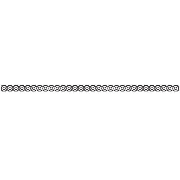 Placca Modellabile da 2.0 mm 30 Fori Lunghezza 150 mm