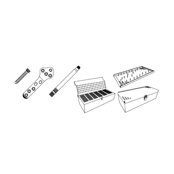 Kit Completo TPLO Evolox con Viti Star Drive