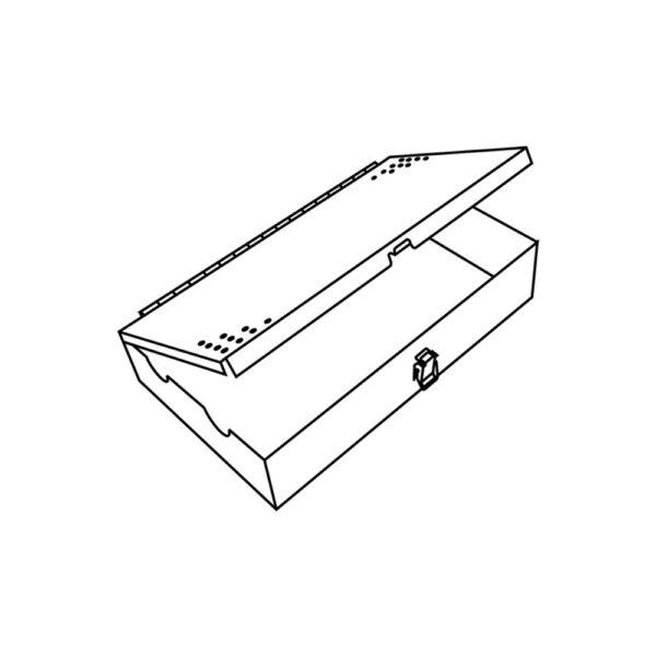 Box in Acciaio Inox per 2 Inserti Corticali o 2 Inserti Bloccati