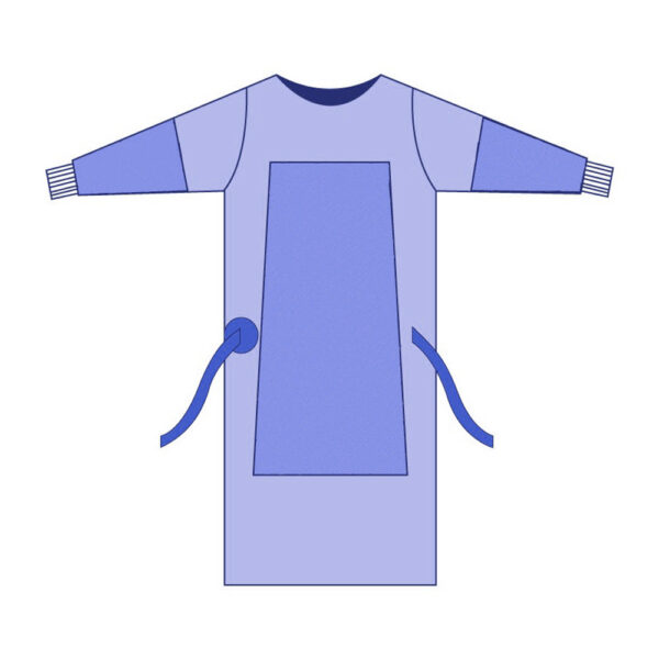 Camice di Protezione Individuale (DPI) Contro Agenti Chimici e Infettivi - Sterile - Conf. 20 Pz
