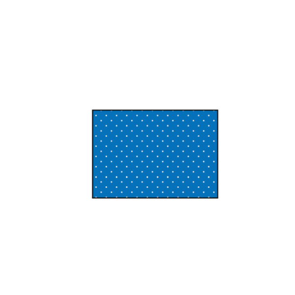 Telo Chirurgico 25 x 45 cm per Farmaci Antiblastici in TNT Superassorbente Azzurro - Non Sterile