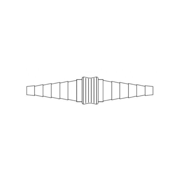 Raccordo Biconico Universale 6.5-15.0/6.5-15.0 mm