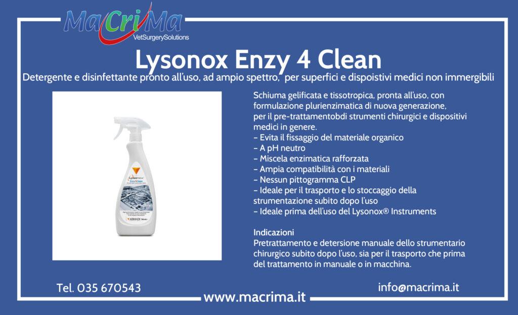 Lysonox Enzy 4 Clean
