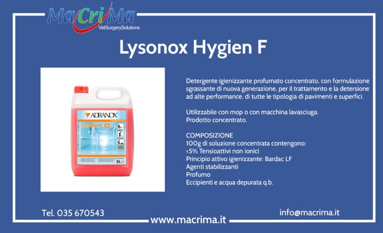 Lysonox HYGIEN F