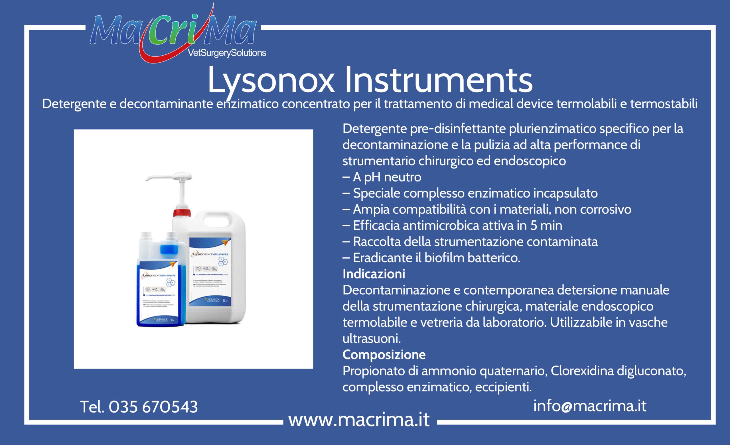Lysonox Instruments