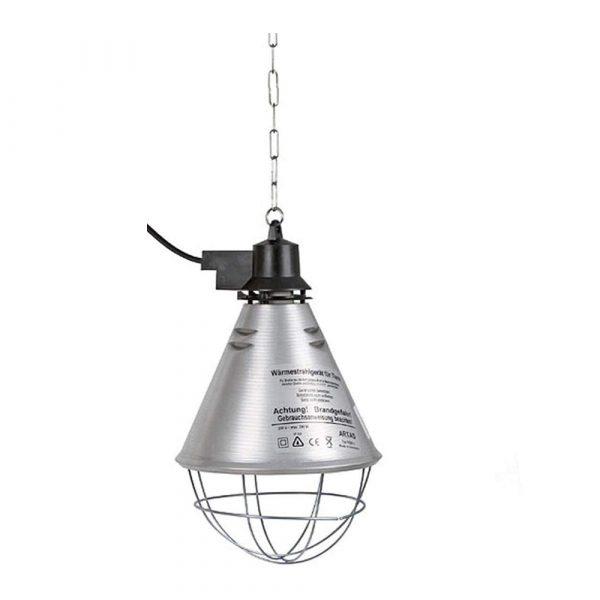 Porta Lampada a norma CEE Ø 20cm Cavo lungo 2.5 mt