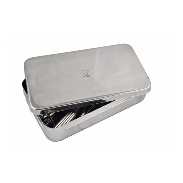 Box in Acciaio per Strumentario Grande 250x150x50