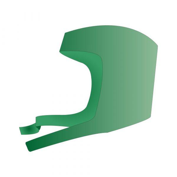 Cappellino per Ortopedia con Lacci Sottogola in TNT SPUNDBOND Azzurro 100 pz