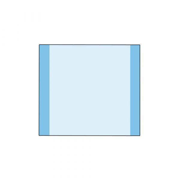 Incision Film con Ioni D'argento ( Antibatterico e Antimicrobico ) in Box da 10 pz. Sterile Misura 56 x 95