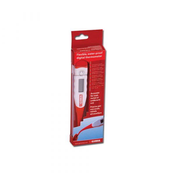 Termometro Digitale Flexi punta flessibile con custodia in plastica °C-30 Secondi
