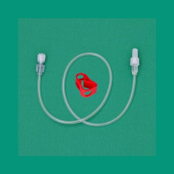 Prolunga in Pvc LLM/LLF con Clamp di chiusura  - Ø: interno 3 x esterno 4.1 - lung. 50 Cm - M