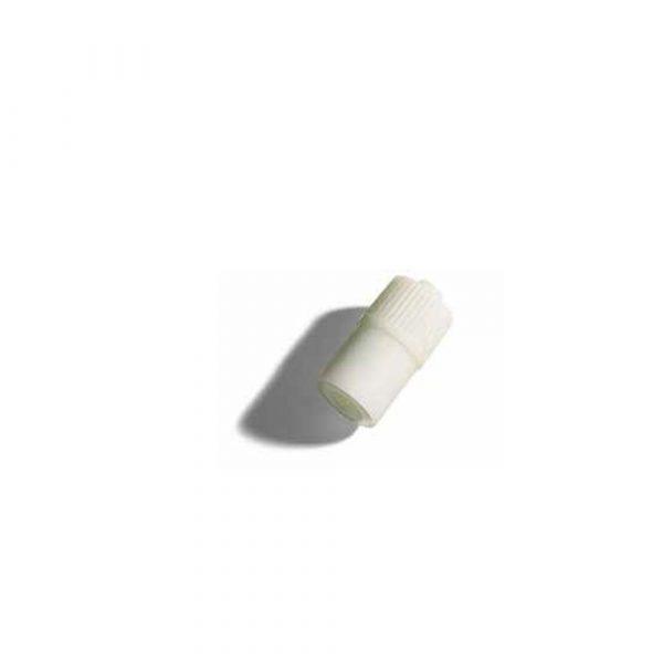 Tappo a Membrana Perforabile Latex Free Bianco - Conf. 100 Pz.