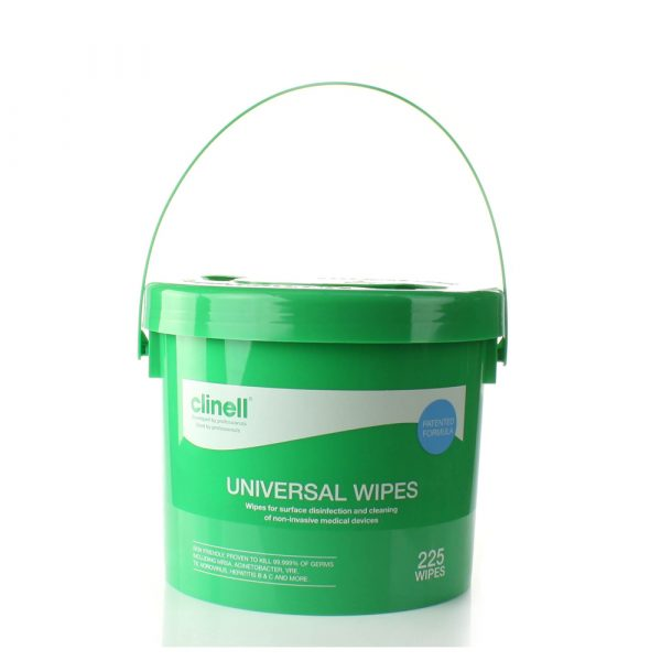 Clinell Universal Sanitising - Conf. 225 Wipes