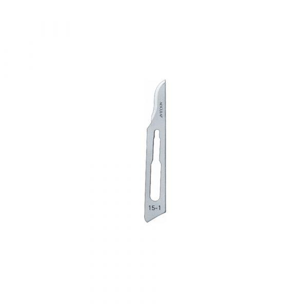 Lame Bisturi Aesculap Sterili Figura 15 - 100 pz