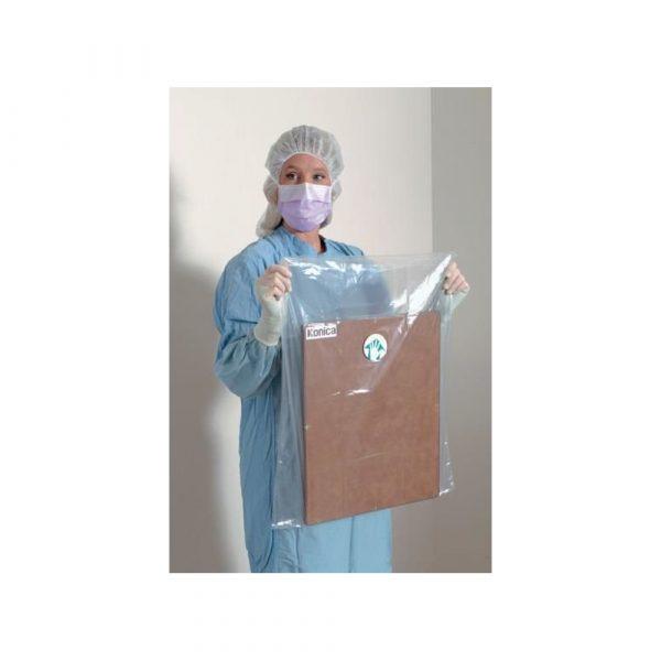 Copertura per Cassette Sterile Radiografiche con chiusura adesiva (61x64 cm) Conf 50 Pz.