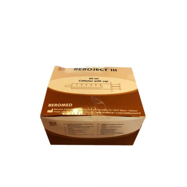 Siringa 60 ml Cono Catetere Senza Ago 20 pz Beroject