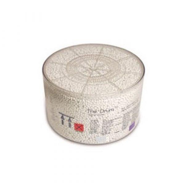 Calce Sodata Drum SPHERASORB Cartuccia 1 Kg - 10 Pz. Vira da Bianco a Violetto