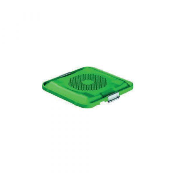 Coperchio Verde per Container JK